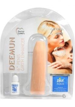 Doctor Loves Deemun Penis Girth Enhancer 6 Inch Flesh