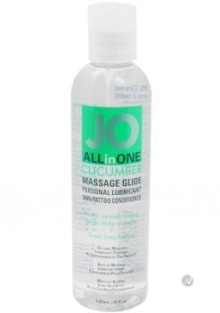 Jo All in One Massage Glide Cucumber 4 Ounce