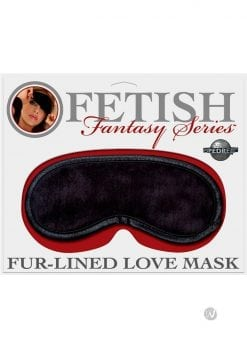 Fetish Fantasy Fur Lined Love Mask