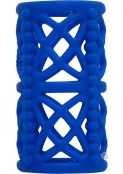 Simply Silicone Cock Cage Midnight Blue