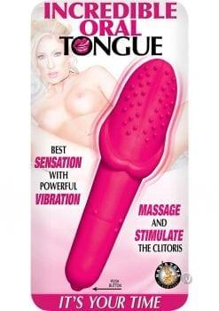 Incredible Oral Tongue Pink