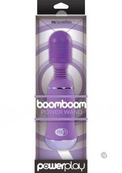 Power Play Boomboom Power Wand Purple