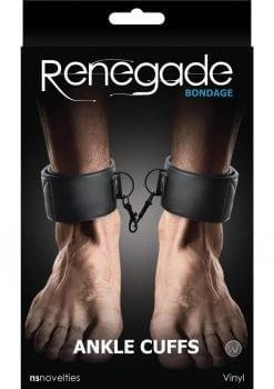 Renegade Bondage Ankle Cuff Black