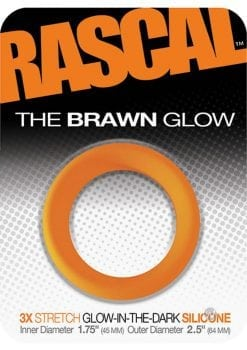 Rascal Brawn Cockring Glow Orange