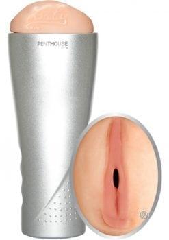 Penthouse Laly Deluxe Cyberskin Vibrating Stroker Flesh