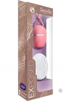 Exposed Bullet Collections Dary Mini Wireless Vibrating Rechargeable Egg Waterproof Dusty Rose