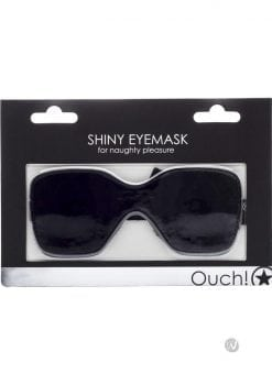 Ouch! Shiny Eyemask Black