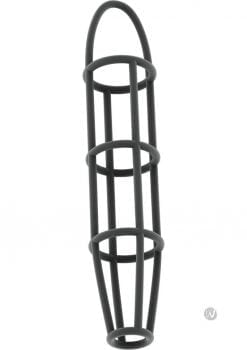 Sono No 30 Silicone Sock Cage With Ball Strap Grey