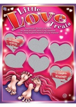 Sexy Scratcher Little Love Treats Scratch Off