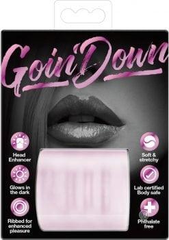 Goin Down Glow In The Dark Blowjob Stroker Pink