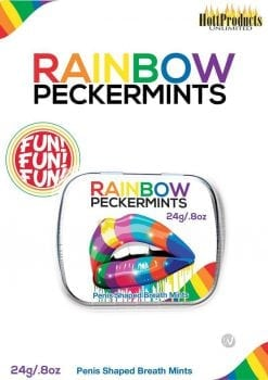 Rainbow Peckermints Breath Mints .8 Ounce Tin