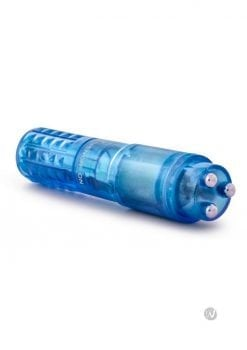 Sexy Things Rocker Mini Massager Waterproof Blue 4 Inch