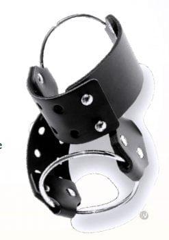 Sex And Mischief Ring Cuffs Black