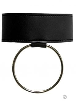 Sex And Mischief Ring Collar Black