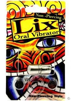 Lix Non Piercing Oral Vibrator Silver
