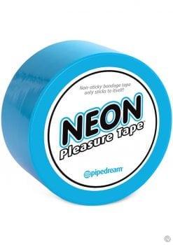 Neon Pleasure Tape Bondage Tape Blue