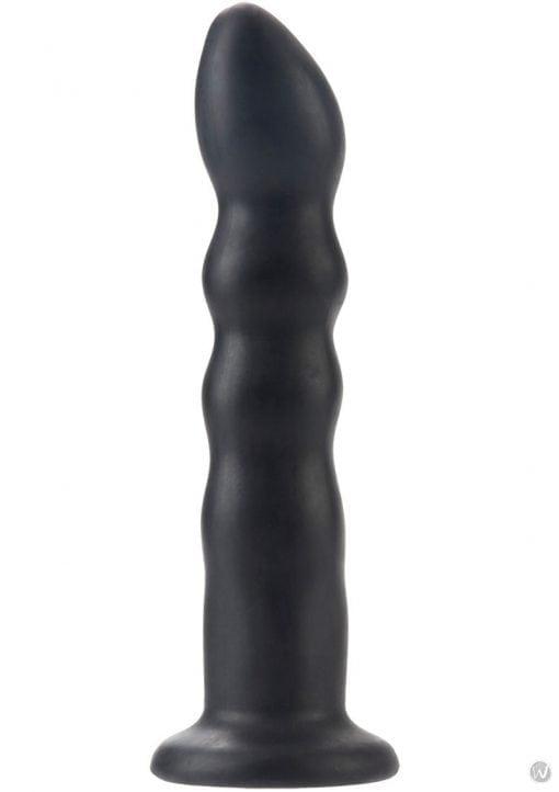 Silicone Love Rider Thruster Probe Black 7 Inches