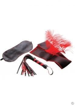 Scarlet Couture Bondage Kit Red/Black