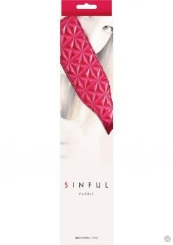 Sinful Vinyl Paddle Pink