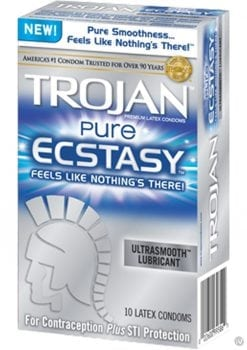 Trojan Pure Ecstasy 10 Ct.