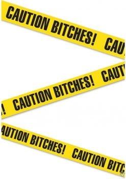 Bachelorette Party Favors Caution Bitches Caution Tape