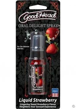 Goodhead Oral Delight Spray Liquid Strawberry 1 Ounce