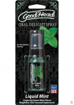 Goodhead Oral Delight Spray Liquid Mint 1 Ounce