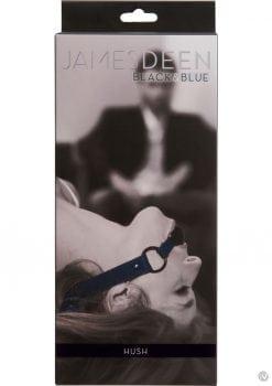 James Deen Black And Blue Hush Ball Gag