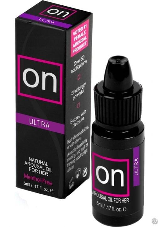 On Arousal Oil Ultra For Her Refills 5 Milliliters 12 Each