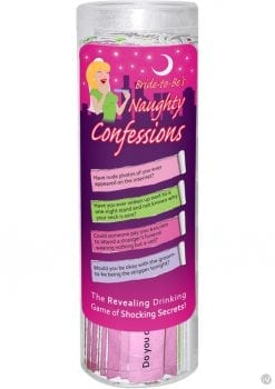 Bride To Be`s Naughty Confessions Game