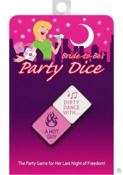 Bride To Be`s Party Dice Game