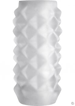 Optimale Reversible UR3 Stroker With Box Studs Sleeve White