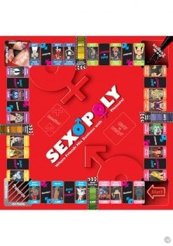 Sexopoly Board Game