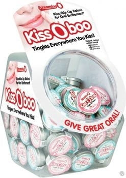 Kiss O Boo Assorted Lip Balm 48 Each Per Bowl