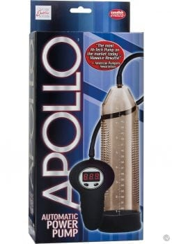 Apollo Automatic Power Pump Wired Remote Control Smoke 10 Inch