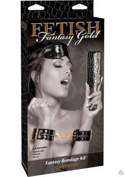 Fetish Fantasy Gold Fantasy Bondage Kit