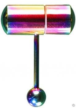 Lix Thrasher Oral Vibrator Rainbow