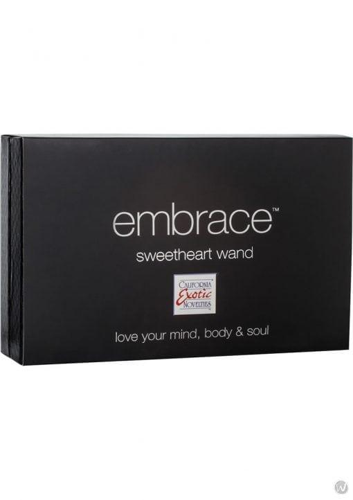 Embrace Sweetheart Wand Silicone Triple Vibe Waterproof Purple