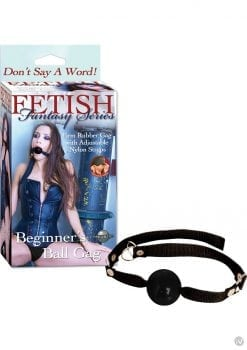 Fetish Fantasy Series Beginners Ball Gag Black
