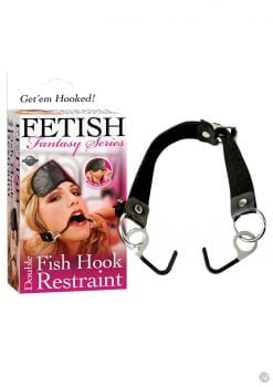 Fetish Fantasy Series Double Fish Hook Restraint Black