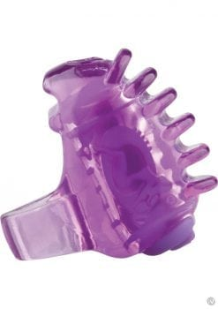 Screaming O Fing O Tips Silicone Finger Massagers Purple