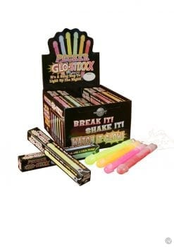 Bachelorette Party Favors Pecker Glo Stixxx Necklace Assorted Colors 24 Each Per Counter Display