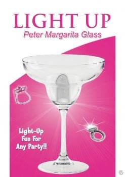 Light Up Peter Margarita Glass