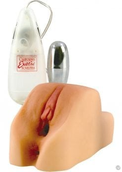FUTUROTIC HONEY POT PUSSY AND ASS VIBRATING WITH REMOVABLE MULTISPEED SILVER BULLET FLESH