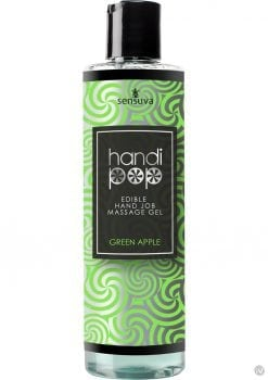 Handipop Edible Hand Job Massage Gel Green Apple 4.2 Ounce