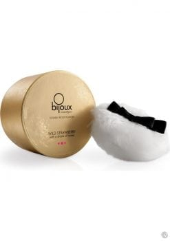 Bijoux Cosmetiques Kissable Body Powder Wild Strawberry With A Drizzle Of Honey