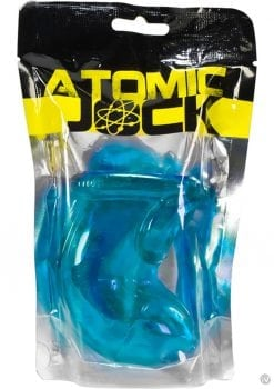 Atomic Jock Cock Lock TPR Chastity With Cock Ring Ice Blue