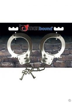 Manbound Metal Handcuffs With Keys
