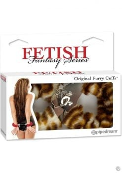 Fetish Fantasy Series Furry Cuffs Tiger
