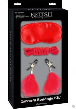 Fetish Fantasy Series Limited Edition Lover`s Bondage Kit Red